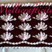 Floral Neckwarmer pattern