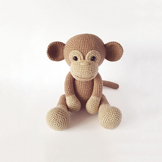 Little Bigfoot Monkey Revised Pattern Video Tutorial | 320x320