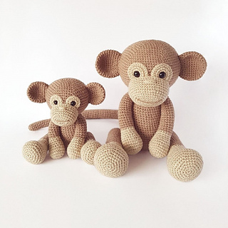 Monkey Large Amigurumi