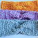 Crochet Winter Headband pattern