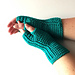 Straight Lines Mitts pattern