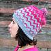 Zig Zag Chevron Hat  pattern