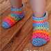 Starlight Toddler Slippers pattern