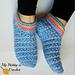 Starlight Women Slippers pattern