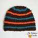 """""""Reflective Stripes"""" Hat pattern"""