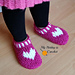 Kids Heart & Sole Slippers pattern