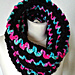 Neon Lights Cowl pattern