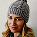 Chic Cable Beanie pattern