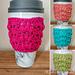 Melda Coffee Cup Cozy pattern