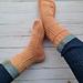 Walking Through Cairo Socks pattern