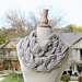 Double Layered Braided Cowl pattern