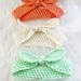 Knot Me Up Headband pattern