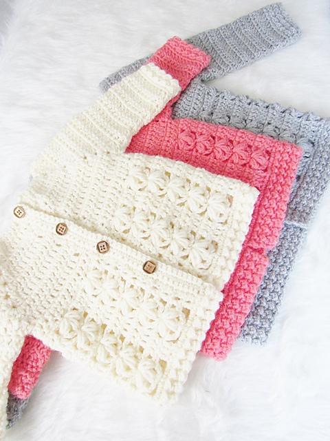 Ravelry Evelyn Baby Sweater Pattern By Crochetdreamz