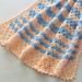 Just Peachy Blanket pattern