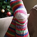 Paper Chain Garland Socks pattern