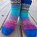 Blustery Day Socks pattern
