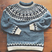 Sweater with Storm Troopers pattern