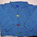 Adorable Chenille Cardigan pattern