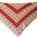 Mitered Squares Shawl pattern