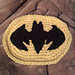 Batman Symbol Applique pattern