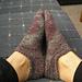 Picot Ankle Socks pattern