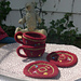 Knitted/Felted Teacup and Saucer pattern
