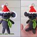 Christmas Critter Koala pattern