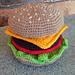 Crochet Burger pattern