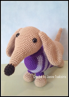 Sausage Dog Crochet Kit - Solid And Marl – Solid and Marl | 320x230