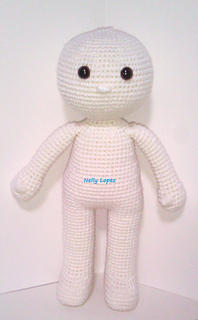 Ball-jointed amigurumi doll body, handmade, interior doll tutorial ... | 320x198