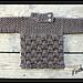 Boys or Girls Basket Weave Baby Sweater. #08 pattern