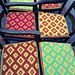 Diamond Chair Cushions pattern