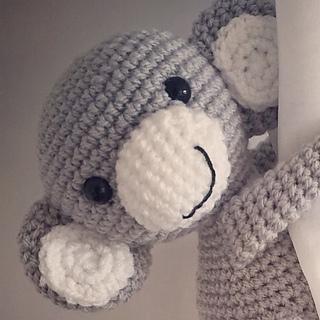 Monkey curtain tie back1 PCS Crochet Monkeyamigurumi tie | Etsy | 320x320