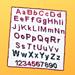Alphabet & Numbers C2C Blanket pattern