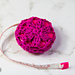 Lacy Flower Measuring Tape Cover pattern