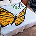 Mini C2C Butterfly Blanket pattern