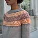 Cumberland Knit Yoke Sweater pattern