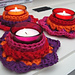 Crochet candle holder pattern