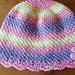 Moss Stitch Hat pattern