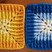 Happy square pattern