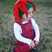 Christmas Poinsettia Flower Hat pattern