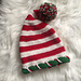 Candy Cane Hat C pattern