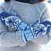 Moonlight traveler mittens pattern