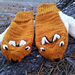 Red fox mittens pattern
