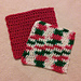 NoGrinch's hdc Dishcloth Washcloth pattern