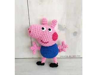 Peppa Pig Amigurumi Pattern [Crochet-Eng ver.] | 254x320