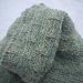 Woad cowl pattern