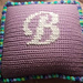 Monogrammed Princess Pillow pattern