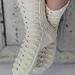 Womans Lace Socks pattern