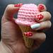 One Bite Ice Cream Cone pattern
